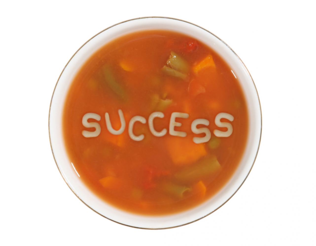 Do you see hidden messages in your alphabet soup?